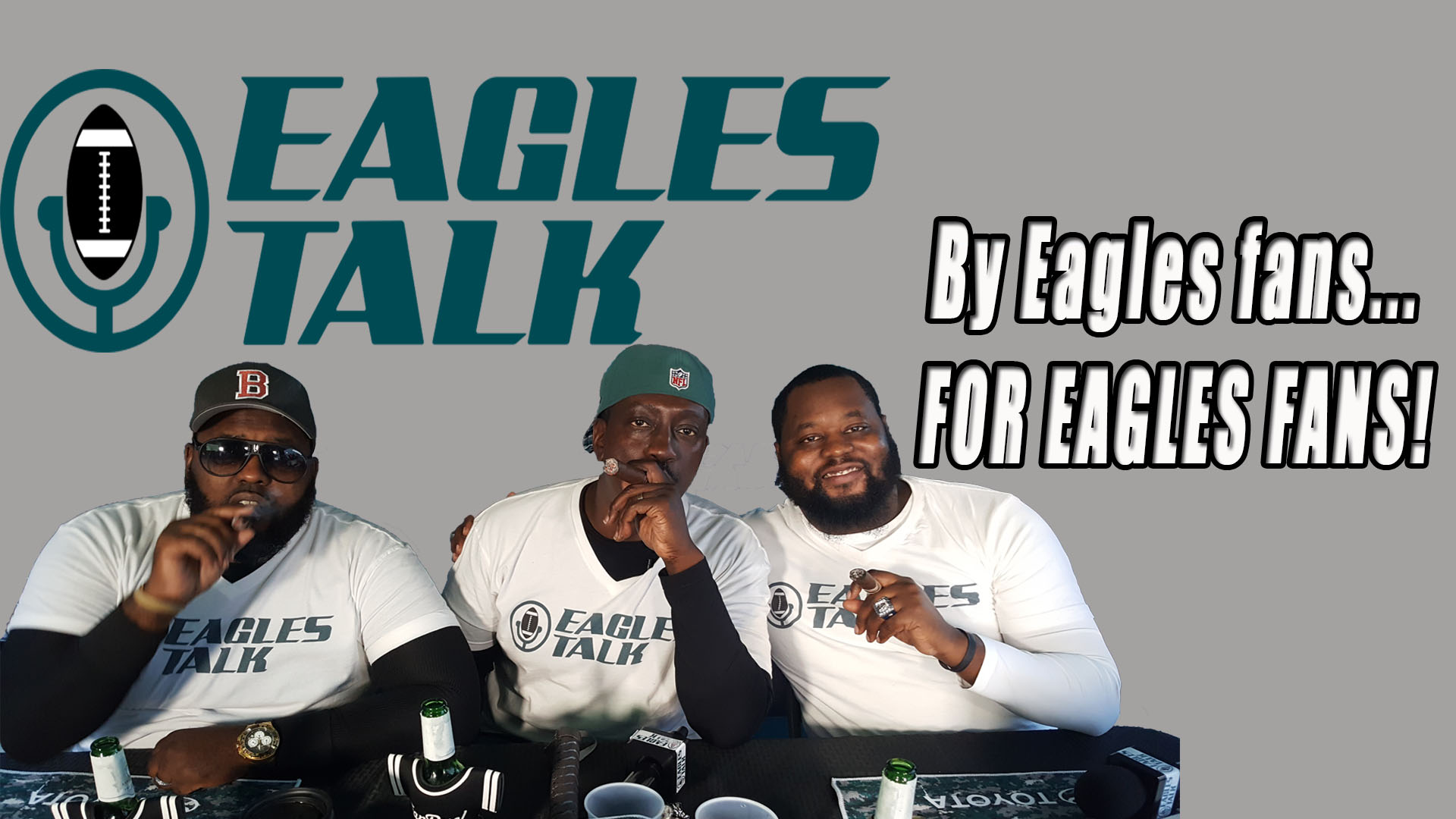 Eagles Talk Ep072 2ND QTR – The crew discuss upcoming position battles WRs & TEs